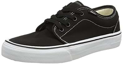 Vans Vulcanized - Zapatillas, unisex, color negro (black/white), talla 34.5