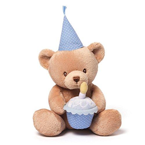 Gund Baby Animated Stuffed Animal, Happy Birthday Talking Bear - Musical Happy Birthday Bear