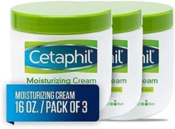 3-Count Cetaphil Fragrance Free Moisturizing Cream
