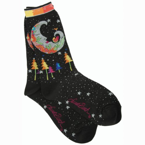 laurel-burch-womens-single-pack-lively-nature-crew-socks-mystic-moon9-11