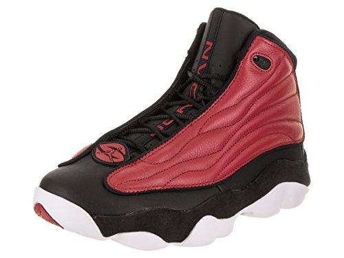 Jordan Nike Men's Pro Strong Gym Red/Black White Basketball Shoe 10 Men US