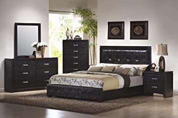 Amazoncom Inland Empire Furniture Eastern King Size Portsmouth III - Bedroom furniture portsmouth