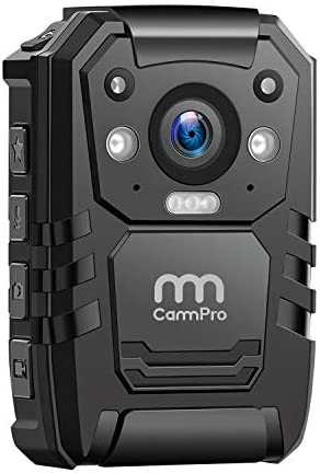 Limited-time deal: CammPro I826 1296P HD Police Body Camera,64G Memory,Waterproof Body Worn Camera,P…