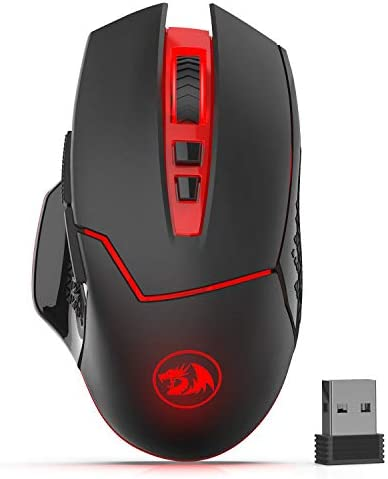 Redragon M690-1 2400DPI Optical 2.4G Wireless Gaming Mouse, 5 Adjustable DPI Levels