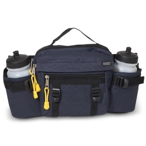 Everest Dual Hydration Waist Pack Navy