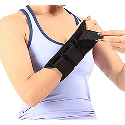 Wrist Brace Fracture Sprain Sports Safety Steel Wristband Support Sports Safety Brace Arthritis Sprain Carpal Tunnel Right Estimated Price £15.77 -