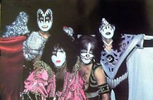 Kiss Group Poster (Kiss 24x36 Dynasty Group Poster Ace Frehley)
