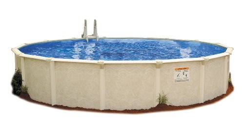 Embassy Pool 4-1500 PARA100 Above Ground Swimming Pool, 15-Feet by 52-Inch, Creamy Tan