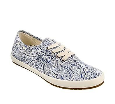 Taos Footwear Women's Guest Star Fashion Sneaker Blue Size: 6