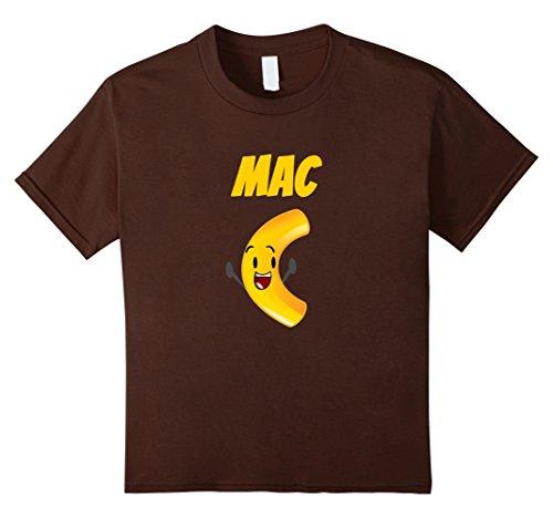 Easy Mac Halloween Costume (Kids Mac N Cheese Shirts Best Friend Couples Matching Tee 12 Brown)