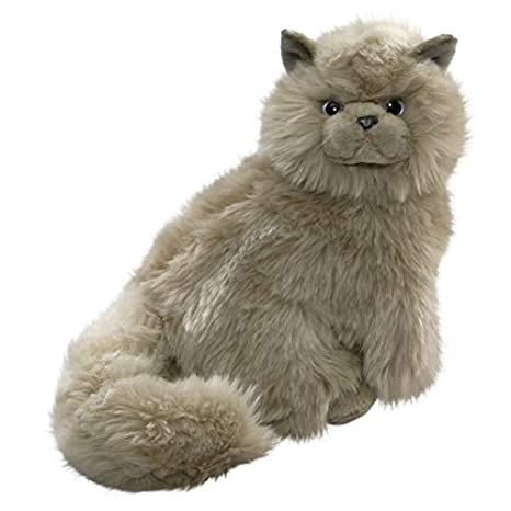 Amazon.com: Cat Grey 12 inches, 30cm, Plush Toy, Soft Toy ...