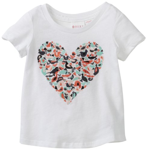 Roxy Kids Baby Girls' Flutter Heart Tee