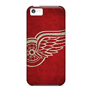High Grade TubandaGeoreb Cases Case For Iphone 5C Cover Detroit Red Wings