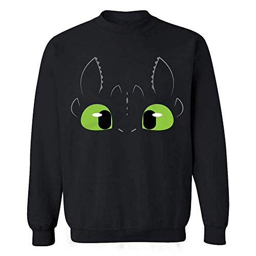 Dragon Toothless Halloween Night Costume Cute Adults Kids Hoodie