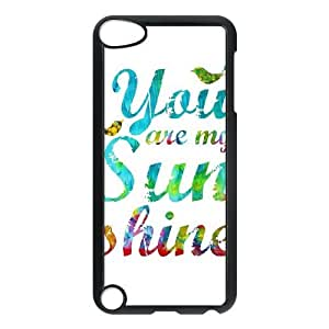 Custom Case for Ipod Touch 5 with You are my sunshine shsu_7642540 at SHSHU