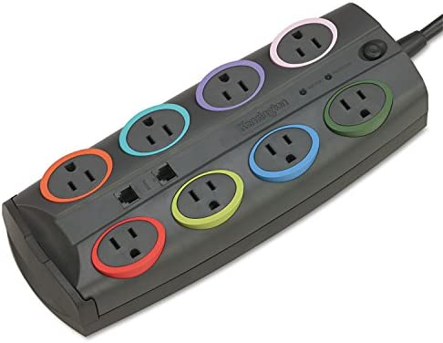 KMW62691 – SmartSockets Color-Coded Surge Protector
