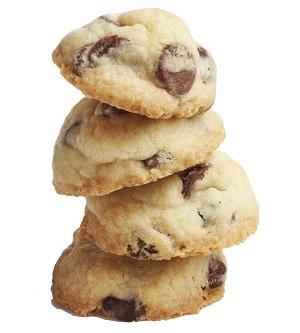 CookieItUp,12 Gluten-Free Chocolate Chip Cookies, 170 Gram Box