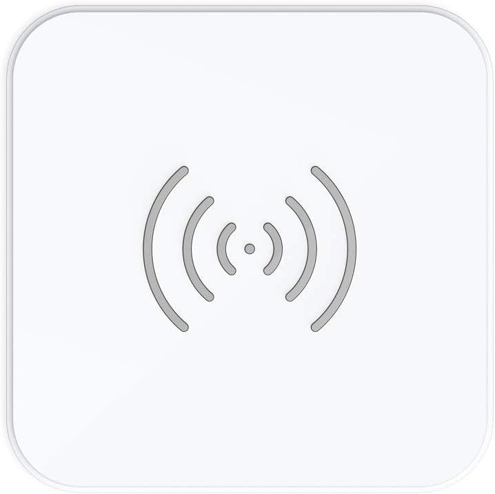 CHOETECH Cargador Inalámbrico Rápido Fast Wireless Charger Qi Cargador 7.5W para iPhone X/8 Plus/8/XS/XS Max/Xr, 10W Carga Rápida Samsung S10/S10e/S9/S8 Plus/S8 y 5W Airpods 2 Teléfonos Qi-enabled