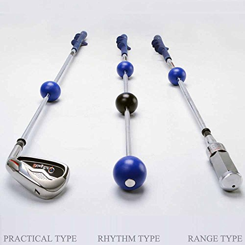 HMX DAVID LEADBETTER Golf Swing Trainer/Golf Training Aid for Strength and Tempo Training , 3 Types Are Available for Choice, 1pc in package