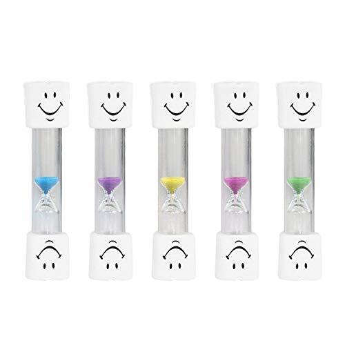 Ningbao Lovely Smile Face Timer Children 3 Minute Teeth Toothbrush Brushing Timer Mini Smiling Face Hourglass Sand Clock Timer