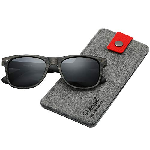Polarspex Polarized 80's Retro Classic Trendy Stylish Sunglasses for Men ()
