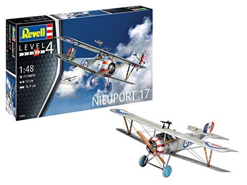 - Revell GmbH Revell 03885 3885 1:48 Nieuport 17 Plastic Model Kit Multicolour, 1/48