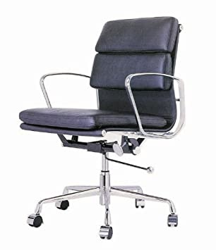 ITALMODERN Darius Low Back Office Chair Black Leather  sc 1 st  Amazon.com & Amazon.com: ITALMODERN Darius Low Back Office Chair Black Leather ...
