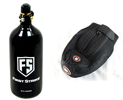 First Strike 48ci 3000psi HPA Nitrogen Tank + Guerrilla Air Tank Cover Combo
