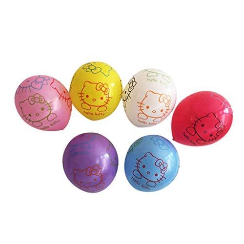 'Hello Kitty' Pattern Graffiti Design Balloons Festival Celebration Decorations -