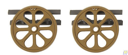 SceneMaster  HO Scale Freight Car Load - Large Gears ()