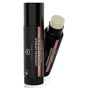 The Man Company Lightening Lip Balm | Vitamin E, Liquorice & Coconut Oil | Provides Lip Care to Dry, Chapped & Dark Lips…