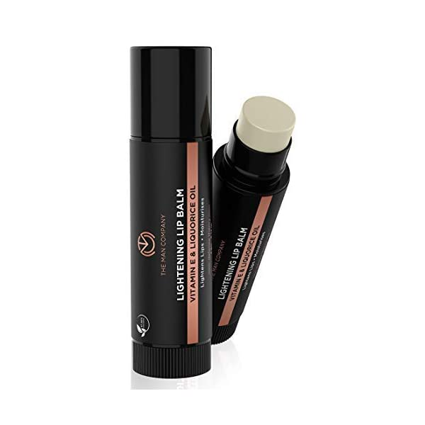 The Man Company Lightening Lip Balm   Vitamin E, Liquorice & Coconut Oil   Provides Lip Care to Dry, Chapped & Dark Lips… 2021 July Helps to lightens the tone of darkened lips affected by nicotine Rejuvenates and revitalizes lips Provides long lasting moisturization