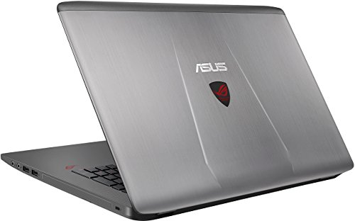 ASUS ROG GL752VW-DH74 17-inch Gaming Laptop, Discrete GPU GeForce GTX 960M 4 GB VRAM, 16GB DDR4, 1 TB, 128 GB SSD (ROG Metallic) (Certified Refurbished)