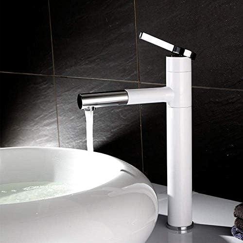 ZY-YY バスルームのシンクは、スロット付き浴室の洗面台のシンクホットコールドタップミキサー流域の真鍮シンクミキサータップロータリーホットとコールド流域の蛇口高める上カウンター洗面蛇口洗面蛇口洗面蛇口タップ