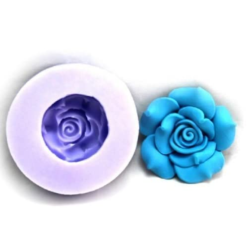 Allforhome(TM) Lovely Flower Silicone Resin Clay Molds Silicone Sugar Resin Craft DIY Moulds DIY gum paste flowers Cake Decorating Fondant Mold