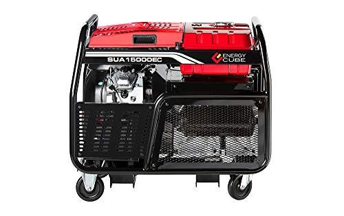 A-iPower SUA15000ECV 15000-Watt Portable Generator Gas Powered Electric Start, 15000 Rated Watt/12000 Running Watt EPA/CARB Sell to All 50 States A-iPower