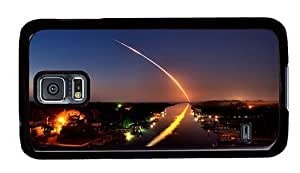 Hipster custom Samsung S5 Case space shuttle discovery PC Black for Samsung S5