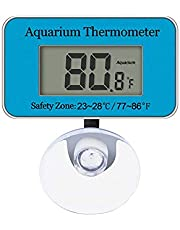 UPLY Aquarium Thermometer Digital Fish Tank Thermometer for Water Temperature