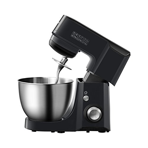 Comfee 4.75Qt 7-in-1 Multi Functions Tilt-Head ABS housing Stand Mixer with SUS Mixing Bowl. 4 Outlets with 7 Speeds & Pulse Control and 15 Minutes Timer Planetary Mixer ¡­ by Comfee