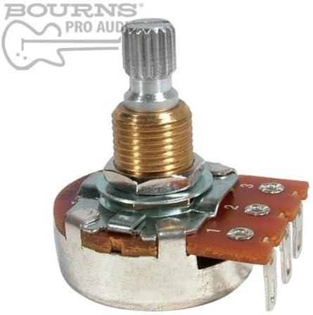 Bourns Potenciómetro B300K 300K 24mm Base Lineal eje partido 3/8 ...