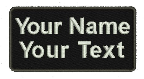 Custom Backing Personalized Military Tactical product image