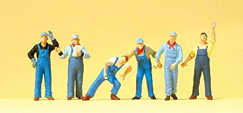 HO Scale US Railway Workers 6/
