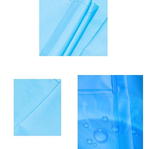 donne 6 opzionale Zhihui dimensioni e impermeabile poncho colori per dimensioni Impermeabile singolo Outdoor ZZHF yuyi Colore Travel uomini F poncho L lungo opzionali impermeabile A ZvqZHnU