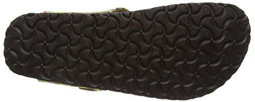 Birkenstock Gizeh Textil/Leder - Sandalias de dedo Mujer Varios Colores - Mehrfarbig (Bohemian Stripes Yellow)