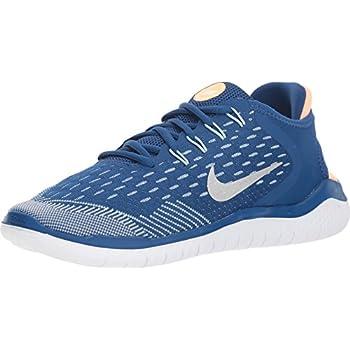 Nike Free Rn 2018 (gs) Big Kids Ah3457 403 Size 3.5