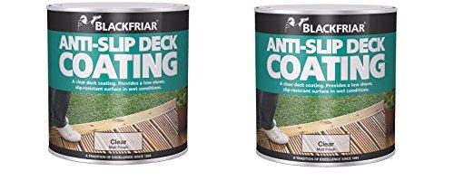 2x 2.5 Ltr Blackfriar Anti Slip Resistant Decking Coating