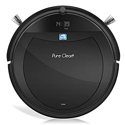 Pure Clean Automatic Programmable Vacuum Cleaner-Scheduled Activation Auto Charge Dock