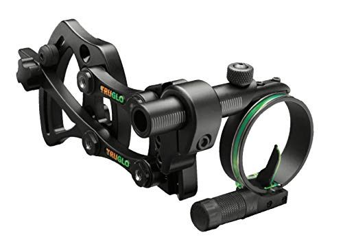 "Truglo Pendulum Adjustable Bracket 1-Pin Sight .019"" Black"