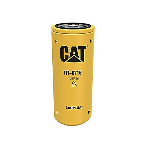 Used Caterpillar Excavator - Caterpillar 1R0716 1R-0716 Engine Oil Filter Advanced High Efficiency Multipack (Pack of 3)