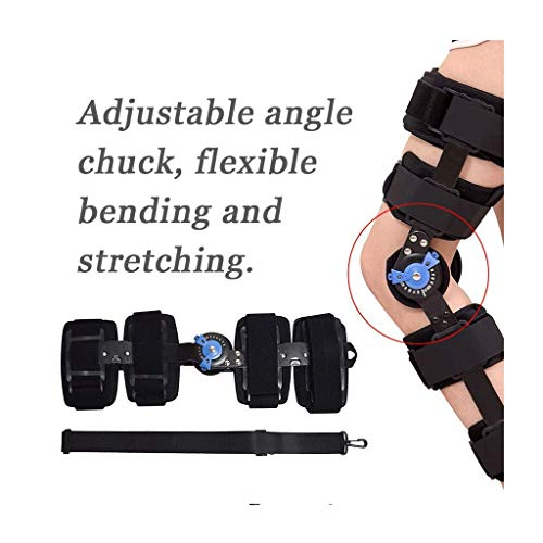 FILOL Hinged Immobilizer Knee Brace Knee, Brace Leg Braces Orthopedic Patella Knee Brace Knee Immobilizer Brace Support Orthosis, Adjustable for Right Leg and Left Leg - Hockey Power Dry Bag Equipment